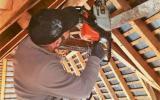 Restauration d'une Charpente traditionnelle par l'entreprise ML OSSATURE située à Quincy-Voisins 77860