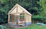 Réalisation d'un garage en ossature bois par l'entreprise ML OSSATURE située à Quincy-Voisins 77860