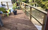 réalisation d'une terrasse par l'entreprise ML OSSATURE située à Quincy-Voiins 77860 (Île-de-France)