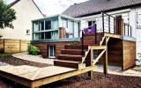 Fabrication d'une terrasse par l'entreprise ML OSSATURE située à Quincy-Voisins 77860 (Île-de-France)
