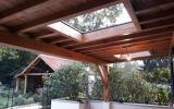 Réalisation d'un appentis bois par l'entreprise ML OSSATURE située à Quincy-Voisins 77860 (Île-de-France)
