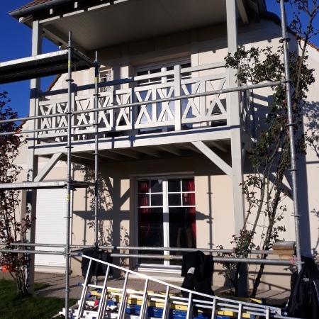 Restauration de balcon par l'entreprise ML OSSATURE Quincy-Voisins 77860 Île de France