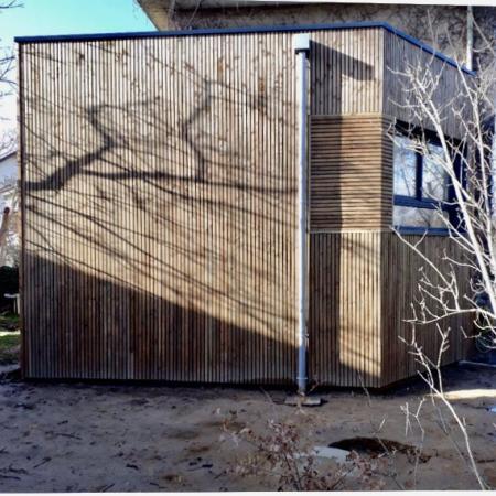 Extension en ossature bois par l'entreprise ML OSSATURE située a Quincy-Voisins 77860 (Île-de France)
